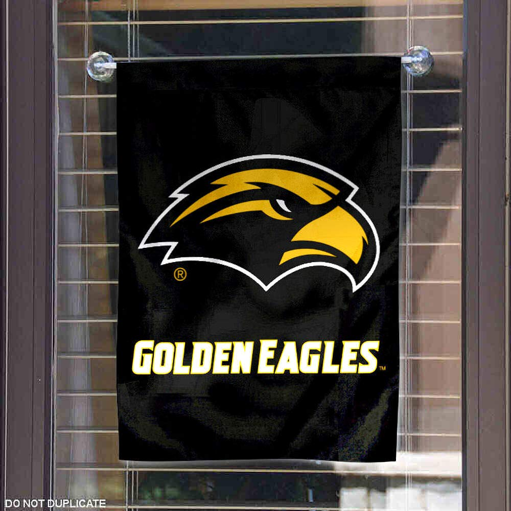 College Flags and Banners Co Southern Mississippi Eagles New Logo Garden Flag
