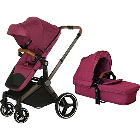 Venice Child Kangaroo Stroller with Carrycot – Purple