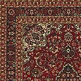 Ottohome Collection Persian Heriz Oriental Design