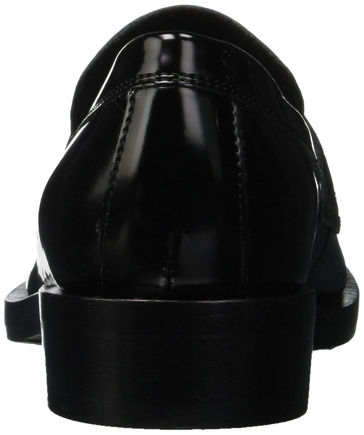 Geox Slipper Damen Damenschuhe Brogue A Slipper Geox Schwarz (schwarz/Bordeaux C0241) 5bcfd8