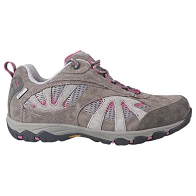 f8c3810fc26 Mountain Warehouse Summit Womens Waterproof Shoes - Sturdy Grip Ladies  Shoes, Quick Dry Walking Shoes, Wolverine Suede Hiking Shoes - 5000 Mile ...