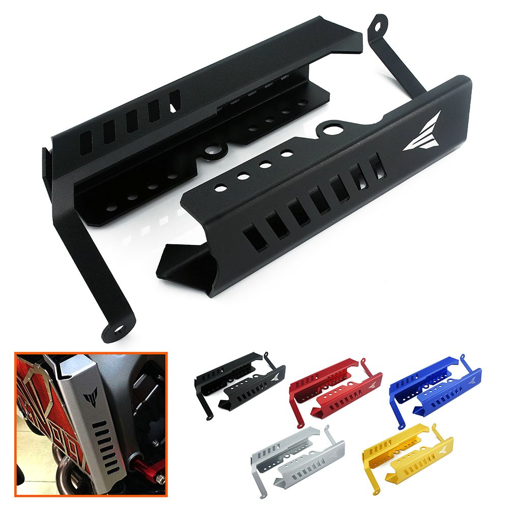 heinmo Motorcycle Radiator Grille Guard Protector Side Covers Stainless Steel Side Radiator Grille Protector for Yamaha MT09 FZ-09 FZ 09 2013-2017