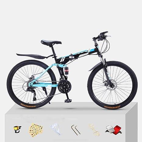 XWDQ Bicicleta De Montaña Bicicleta Adulta Plegable 20/24/26 ...