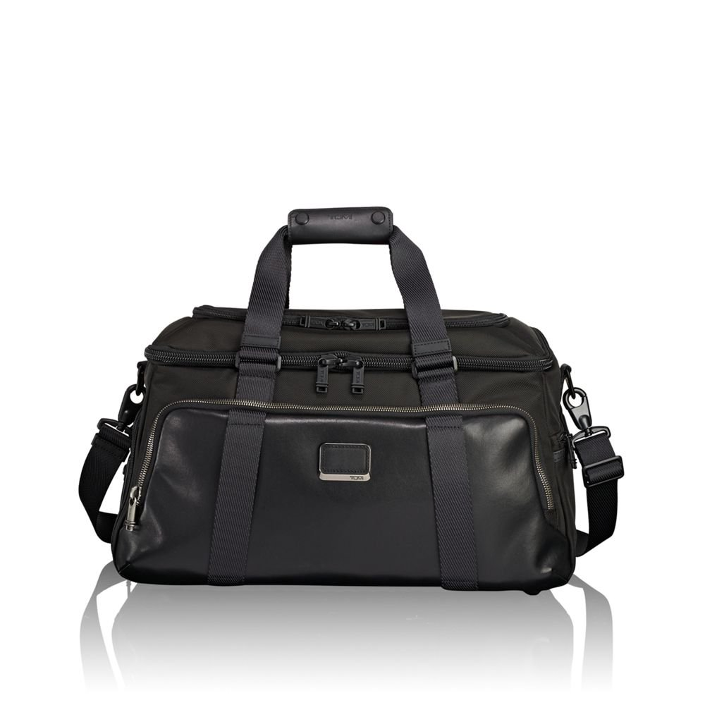 Tumi Men's Alpha Bravo Mccoy Gym Bag, Black, One Size