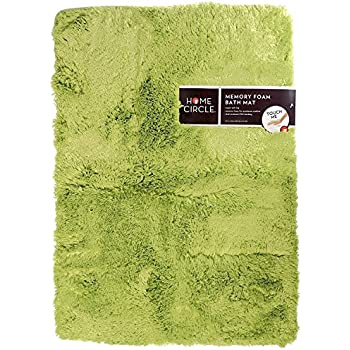 Amazon Com Home Circle Soft Top Memory Foam Bath Mat 17
