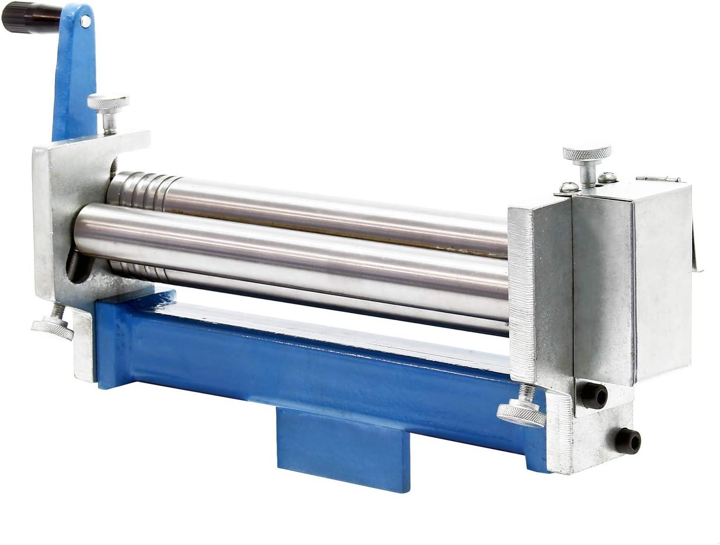 Drei-Walzen Rundbiegemaschine f/ür Werkst/ücke bis 320mm Biegemaschine Rundbiegeger/ät Blechbearbeitung