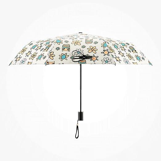 Paraguas Sombrillas Plegables Creativas súper protección ...