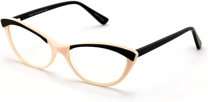 Retro Eyeglasses Frame Optical Eyewear Non-prescription Eyeglasses Frame with Clear Lenses Unisex