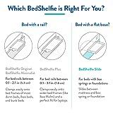 BedShelfie The Original Bedside Shelf - 9 Colors