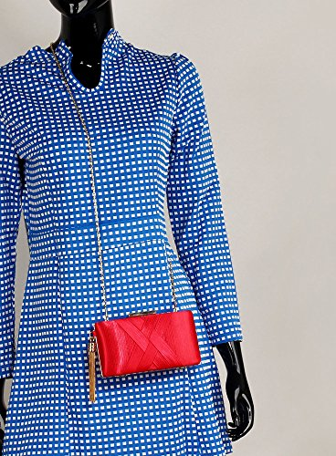 Red Designer Evening New Women Clutch For Case Design Look Ladies Bag Box Tassel 1 Handbag Hard With PaHxfSx