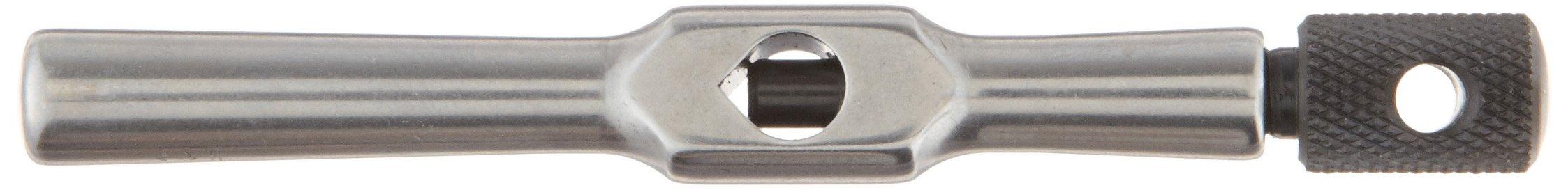Starrett 174 Tap Wrench, No. 0-14 Tap Size, 1/4'' Square Shank Diameter, 3-5/8'' Body Length by Starrett