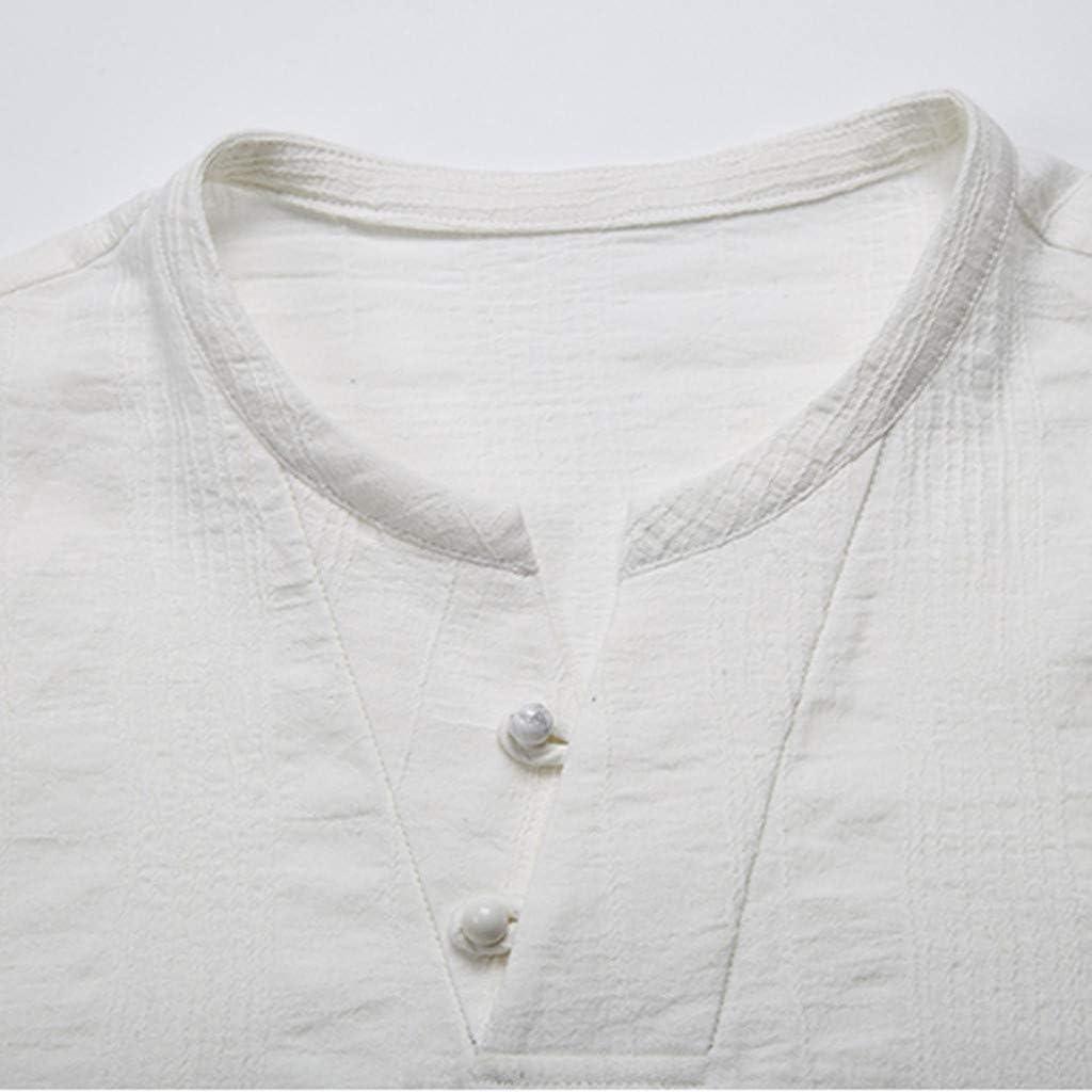 Siviki Mens Fashion Mens Baggy Casual Solid Hoodies Sweatershirt V-Neck T Shirts Tops Blouses Sportwear