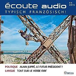Écoute audio - Ces gens qui font Paris. 11/2015