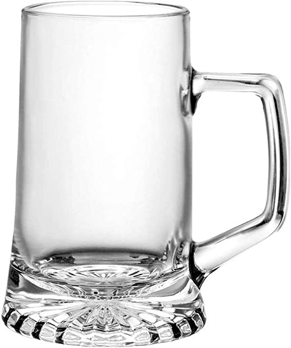 Takestop® Juego 6 vasos chupito 40 ml Mango jarriatas Montpellier Mini jarra cicchetti cranio Rum Vodka Cristal Chupitos
