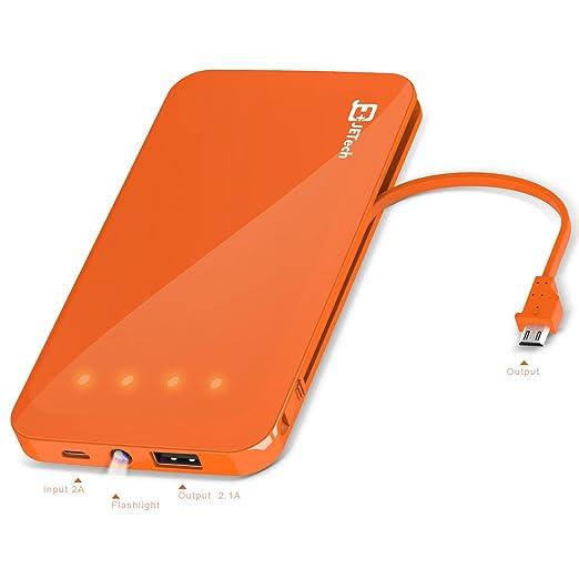112 opinioni per Batteria Portatile, JETech 5,000mAh 2-Output Portable Power Bank Caricabatteria