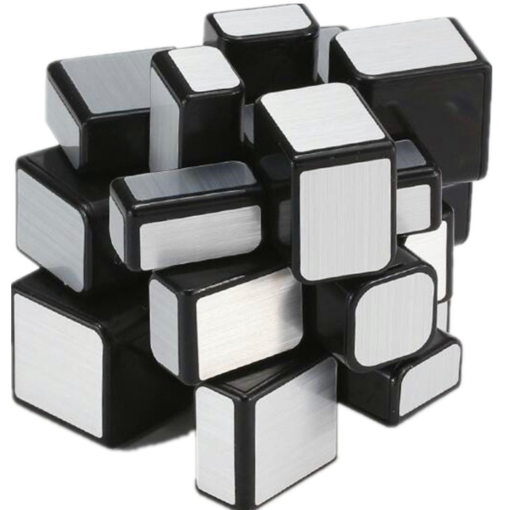 Puzzles & Games Cuberspeed Cubing Classroom Mirror 3x3x3 Silver Stickere Magic Cube Moyu Mofang Jiaoshi 3x3 Silver Mirror Speed Cube