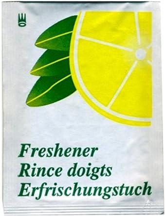 Toallitas húmedas refrescantes de limón 100pz