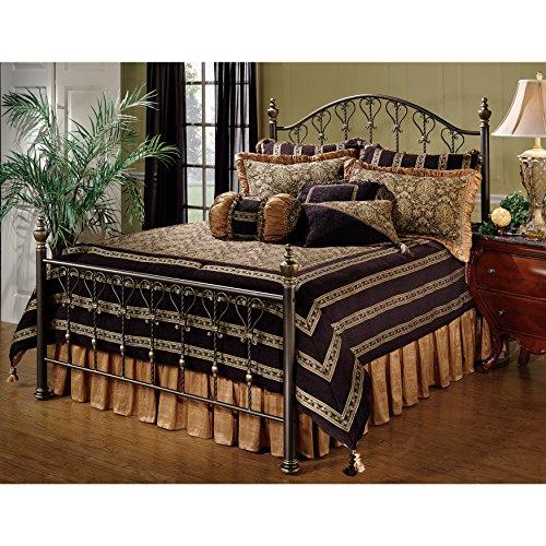 Hillsdale Furniture 1332BKR Huntley Bed Set, King, Bronze