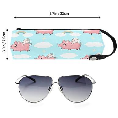 Amazon.com: Kawaii - Estuche para gafas de arcoíris y gafas ...