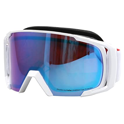 321dd6fc3daf Amazon.com   JULI Ski Motorcycle Goggles - Frameless 100% UV400 ...