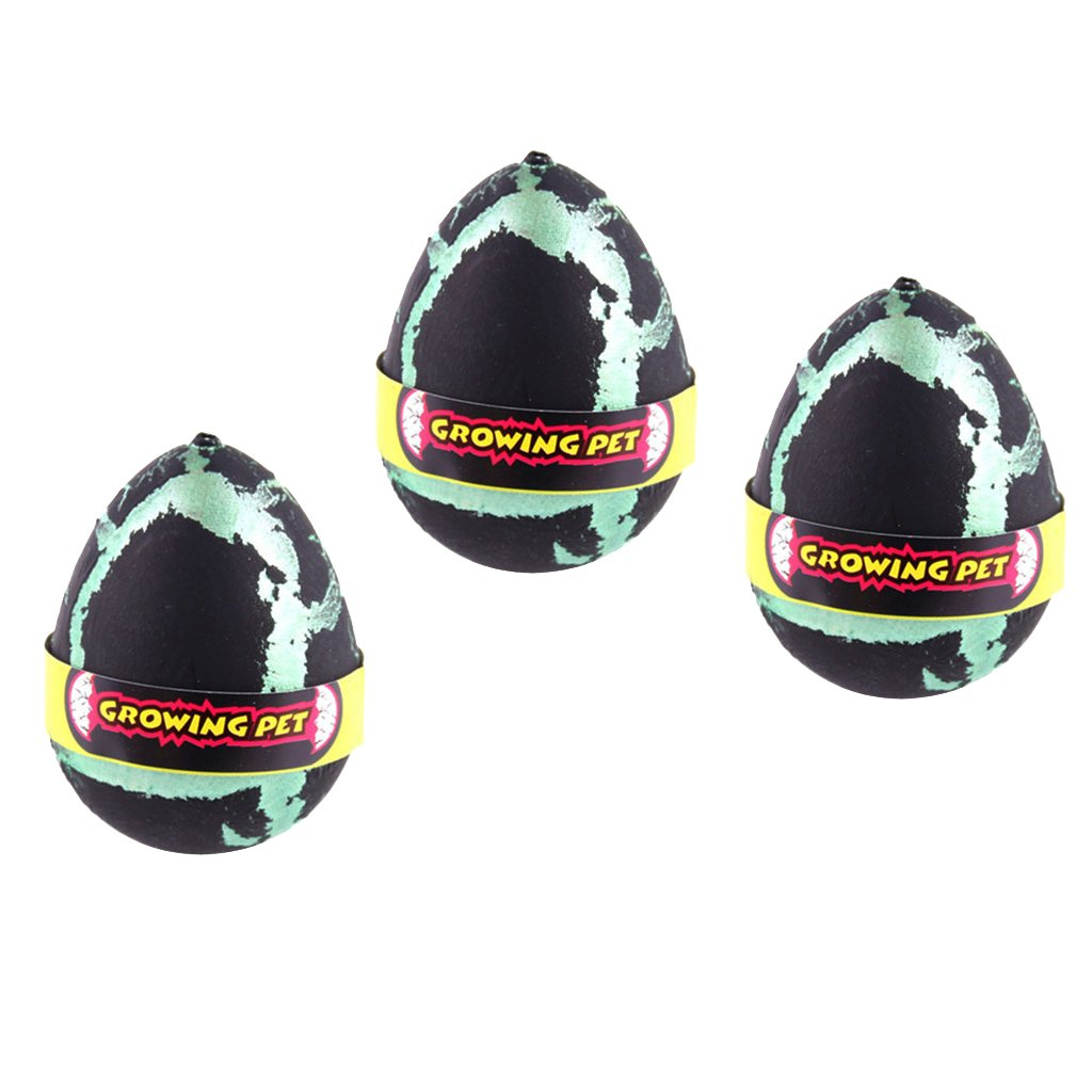 Easter gifts amazon dino world 3 pcs black magic add water dinosaur hatching dino growing eggs children toy negle Image collections