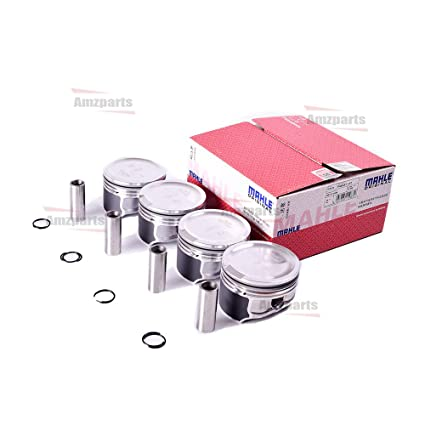 Amazon.com: Amzparts 4x MAHLE Pistons & Rings 81mm for AUDI A3 A4 TT VW Beetle Golf Jetta Passat 1.8T 06B107065N: Automotive