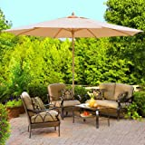 Outdoor Umbrella 13 Ft Khaki Color