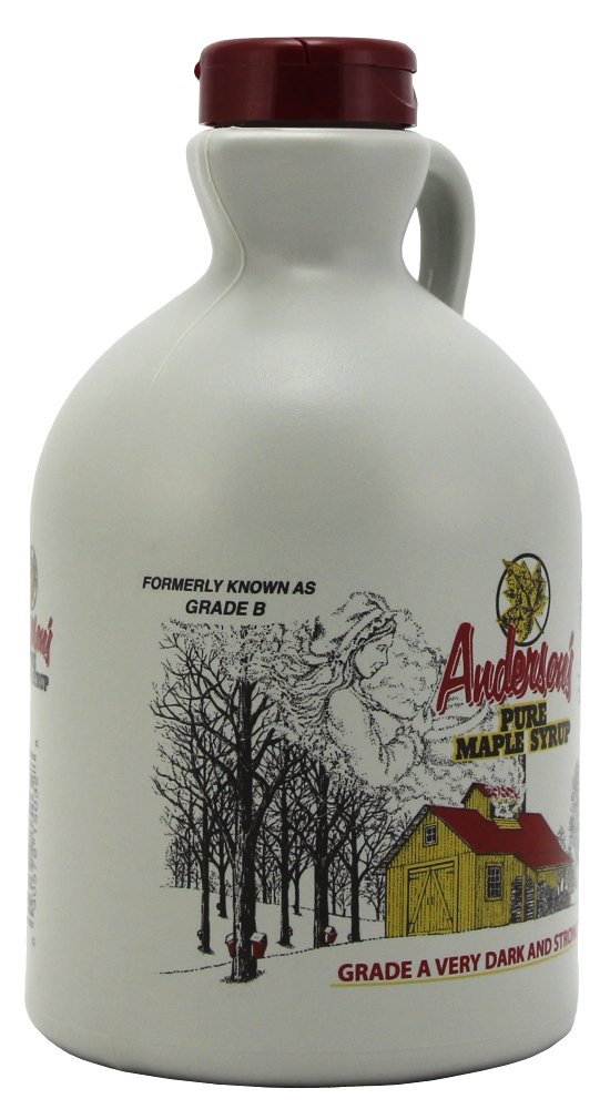 Anderson's Pure Maple Syrup, Grade A Very Dark/Grade B, 32 Ounce (Frustration Free Packaging) by Anderson's (Image #5)