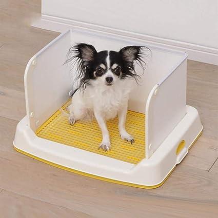 Daeou Animal-WC Semi-Enclosed Perro Aseo Perro orina Lavabo Perro Orinales de Cama