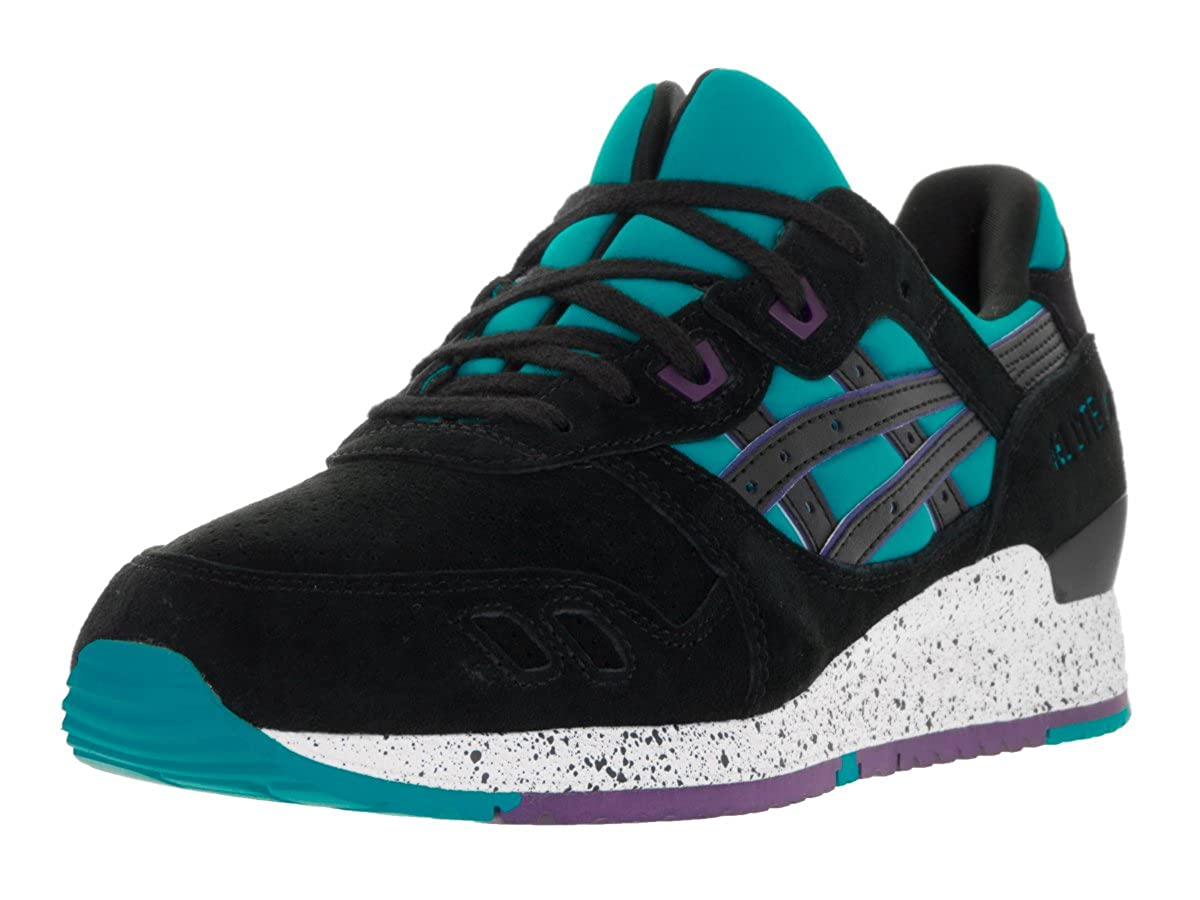 huge discount c2ca6 a008f ASICS Tiger Men Gel-Lyte III (Blue/Peacock Blue/Black)