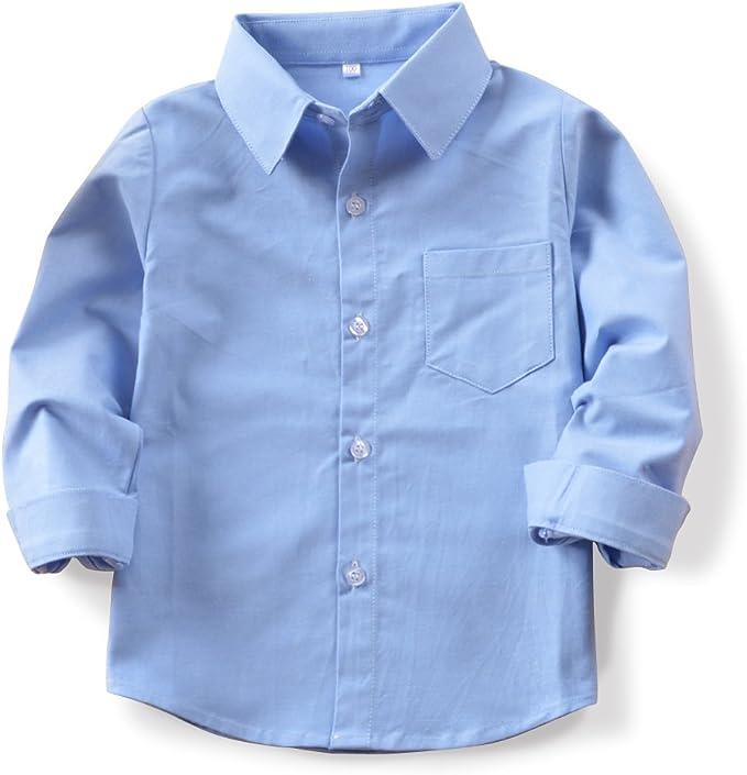 Phorecys - Camisa para niño de manga larga (algodón, para niños de 2 a 10 años): Amazon.es: Ropa y accesorios