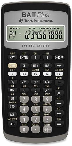 Texas Instruments BAII Plus Financial Calculator