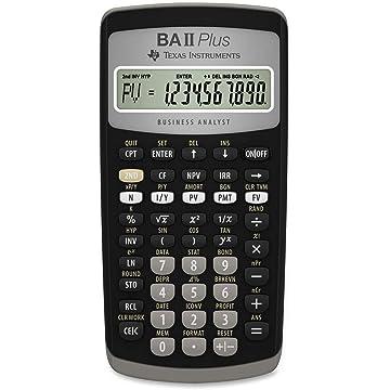 top best Texas Instruments BA II Plus