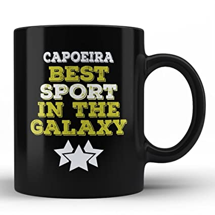 Capoeira is My Favourite Sport In The Galaxy Typography Funny Unique Gift for Capoeira Sport Lover