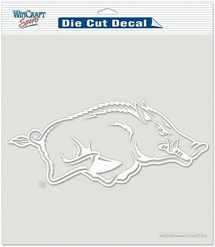 Arkansas Razorbacks NCAA College Vinyl Sticker Decal Car Window Wall