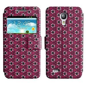 LEOCASE flor linda Funda Carcasa Cuero Tapa Case Para Samsung Galaxy S4 Mini I9190 No.1005235