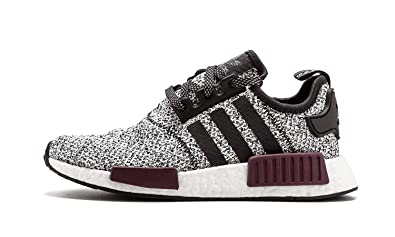 cb6faadd5cad Image Unavailable. Image not available for. Colour  adidas New NMD R1 Champ  Exclusive Burgundy Reflective 3M White Maroon ...