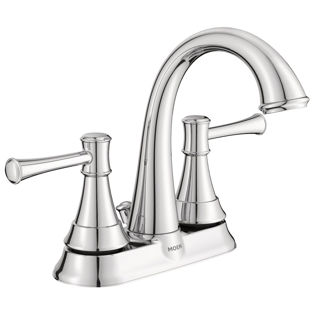 Moenh moen ws84777 moen ashville centerset 2 handle bathroom faucet 4 inch chrome lovely for Bathroom sink faucets 4 inch centerset
