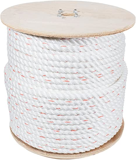 25 Feet Black /& White 10 Feet 100 Feet and Full Spools 50 Feet FMS Ultra Soft Triple-Strand 1//4 Inch /& 1//2 Inch Twisted Chenille Rope by The Foot 1//4 Inch x 10 Feet