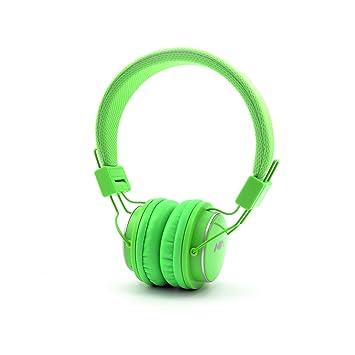 Portátil over Ear auriculares Bluetooth con micrófono, Q8 plegable inalámbrico Bluetooth auriculares estéreo auriculares estéreo