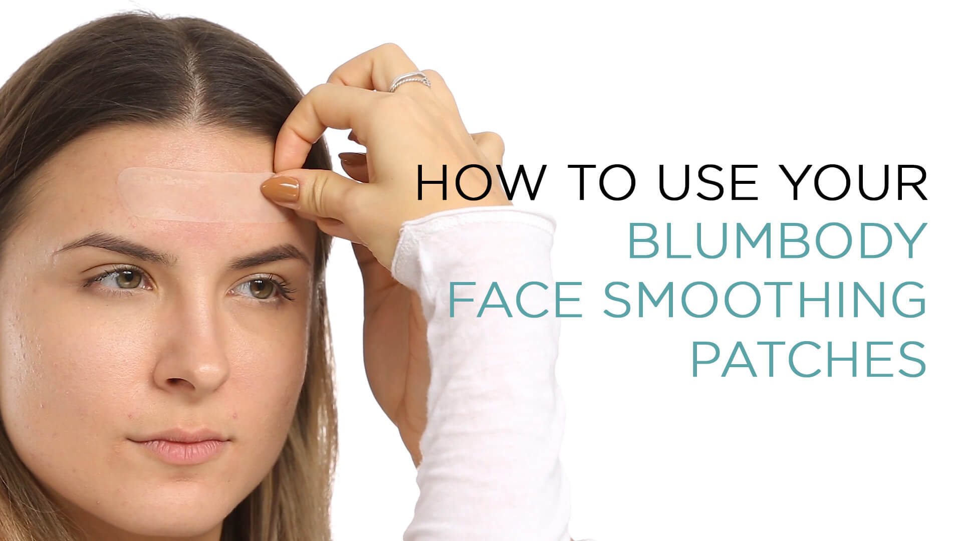 Blumbody Wrinkle Patches for Face - Facial Anti Wrinkle Smoothing Treatment for Smoothing Eye, Mouth or Frown Wrinkles - 165 Reusable Face Patches