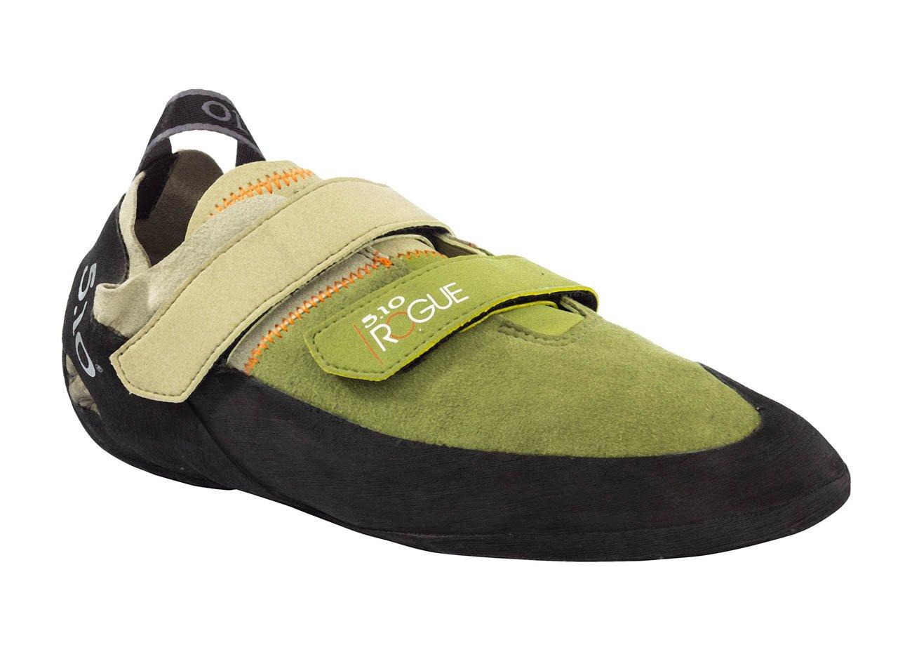 Five Ten Men's Rogue VCS Synthetic Neutral Climbing Shoes, Olive, 12.5