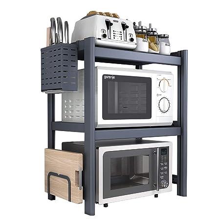 QYQYMJ Microondas casa Cocina microondas Estante Estante de ...
