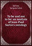 To Be and Not to Be, Jacques Salvan, 0814311660