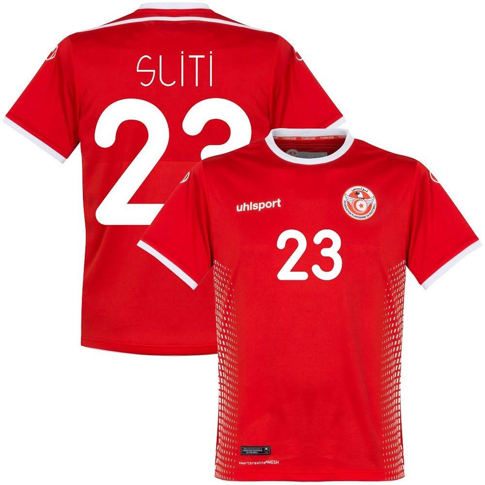 Uhlsport Tunesien Away Trikot 2018 2019 + Sliti 23