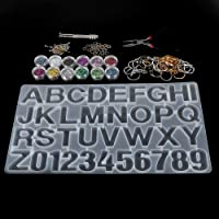 Epoxy mal set, ketting hanger gereedschap maken sleutel cirkel gepersonaliseerde kristallen epoxy mal kit, tang tang…