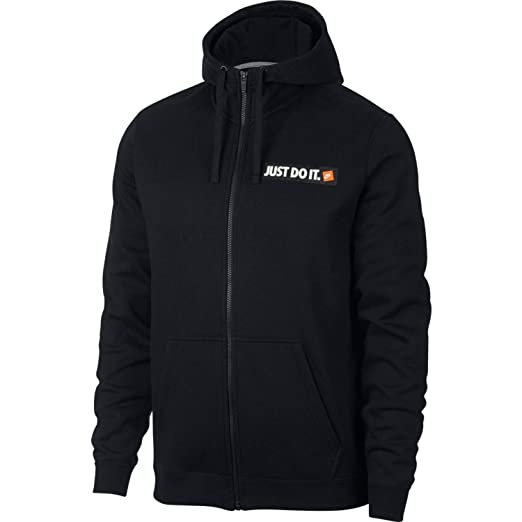 0d635552ccc7d Amazon.com  Nike Mens HBR JDI Fleece Full Zip Hoodie  Sports   Outdoors