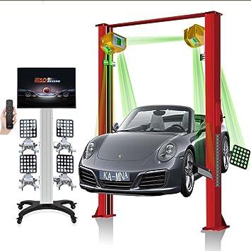 5d alineación de las ruedas con pantalla táctil cuatro alineación de las ruedas Elevadores 5d 5d móvil rueda de coche alineación máquina Android Sistema 5d ...