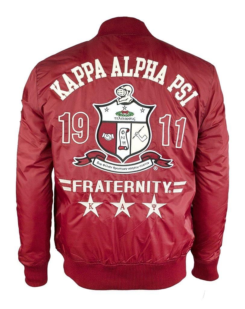 Amazon.com: Kappa Alpha Psi fraternidad para hombre chamarra ...