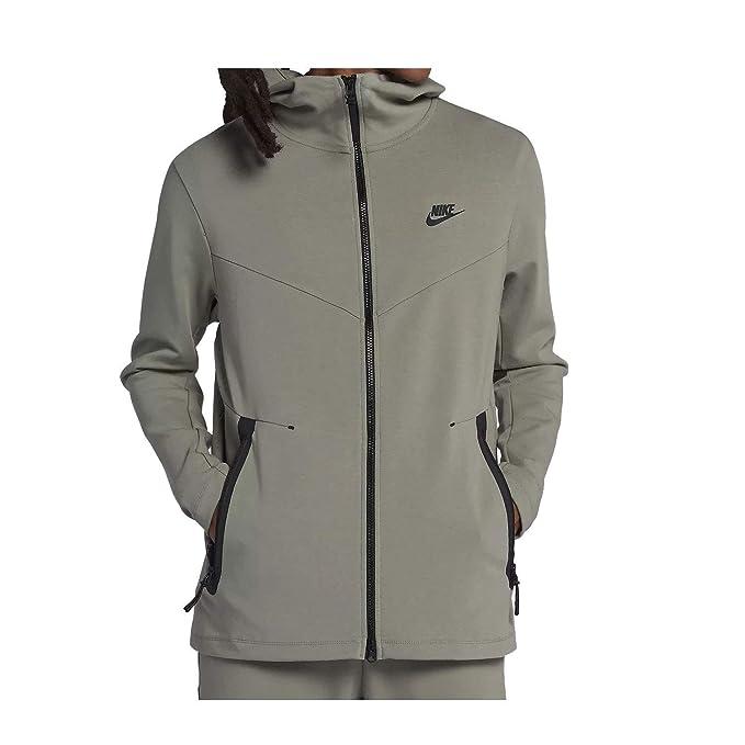 Nike Felpa con cappuccio, da uomo verde XXL: Amazon.it